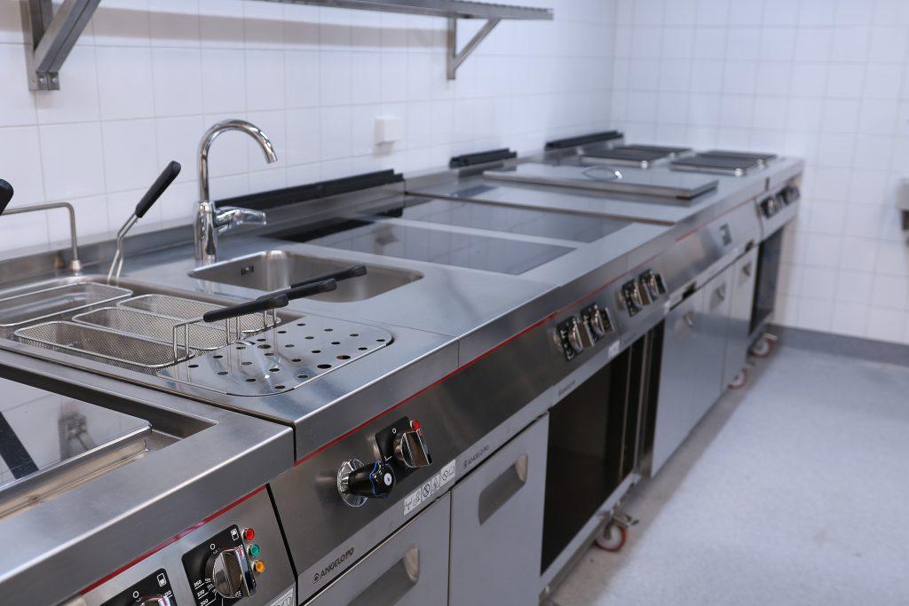 Storkjøkken til restaurant og hotell