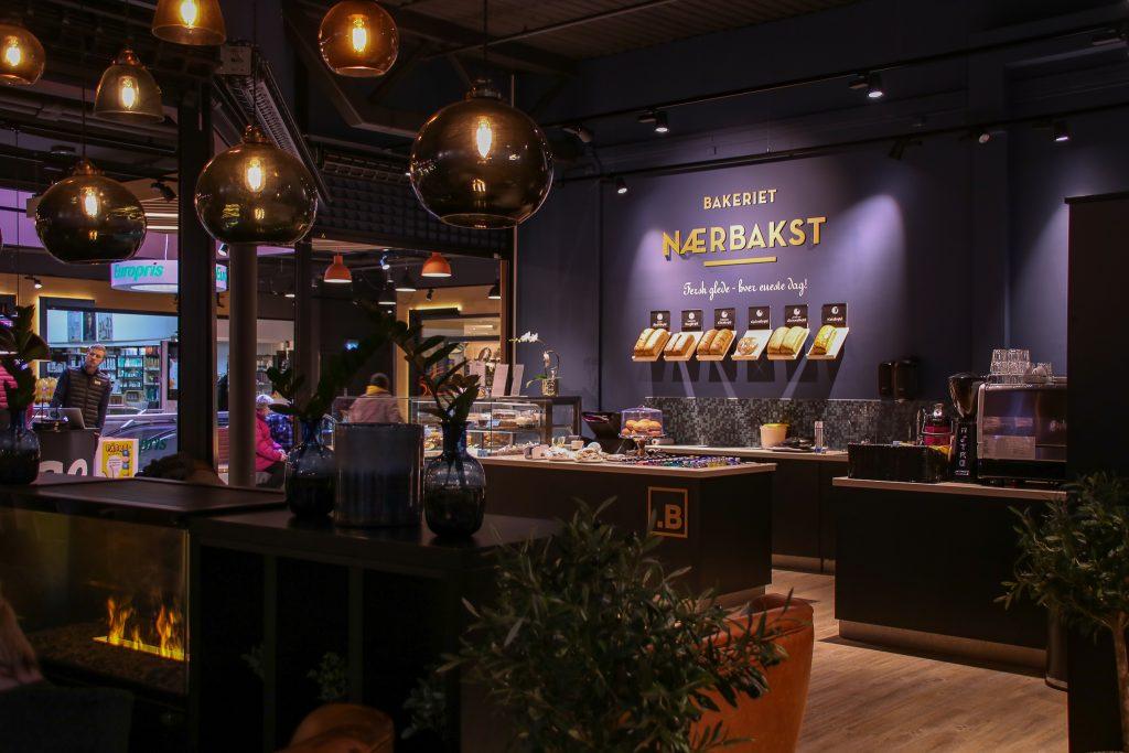Storkjøkken til kaffebar, kafé og bakeri